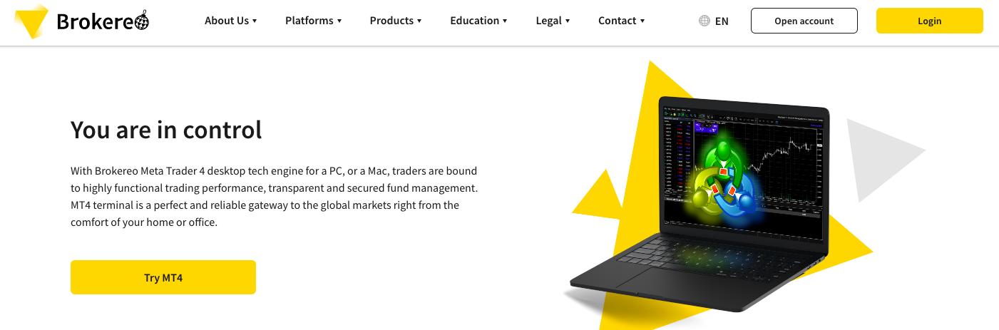Brokereo trading platform review